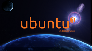 ubuntu space by marcelomartinovic
