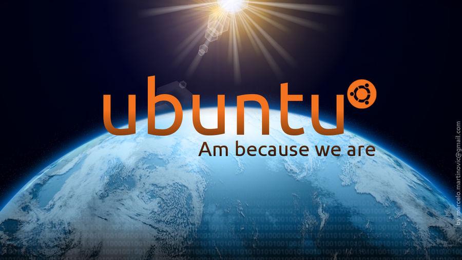 ubuntu space by marcelomartinovic
