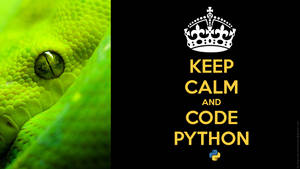 Keep Calm and code python by marcelomartinovic