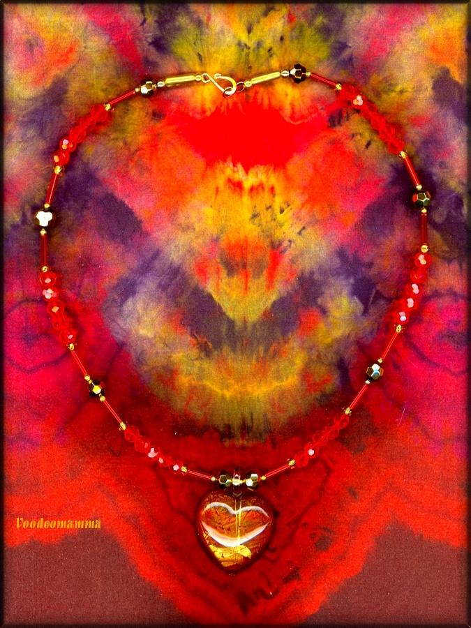 GOLDEN HEART by Voodoomamma