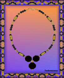 NECKLACE 'FOR THE QUEEN OF SHEBA'