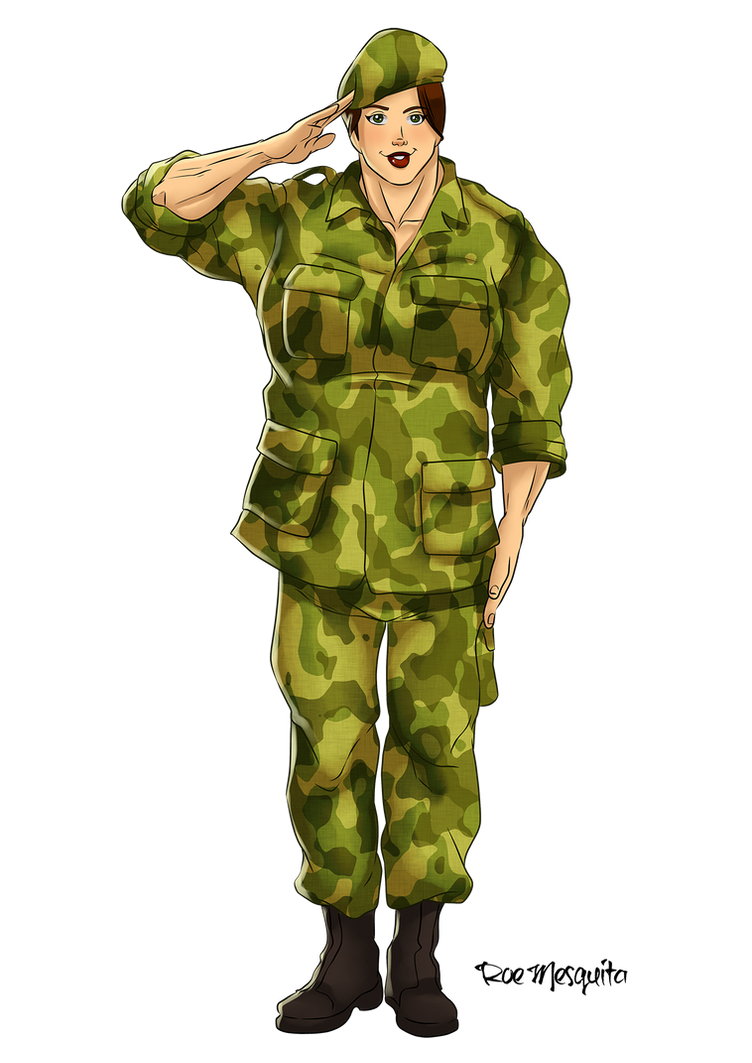 LadyGuns Salutes by Odie1049 on DeviantArt
