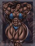 Joanna Blake - An Ebony Muscle Goddess