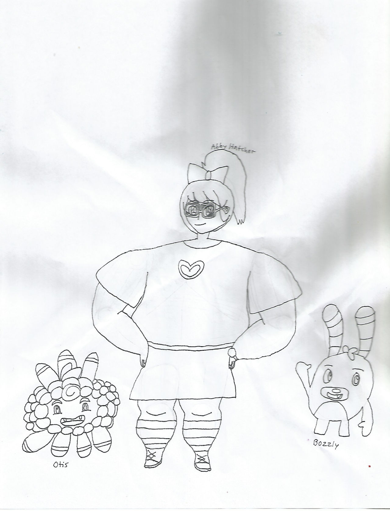 Abby Hatcher with Bozzly and Otis by Teanster1 on DeviantArt