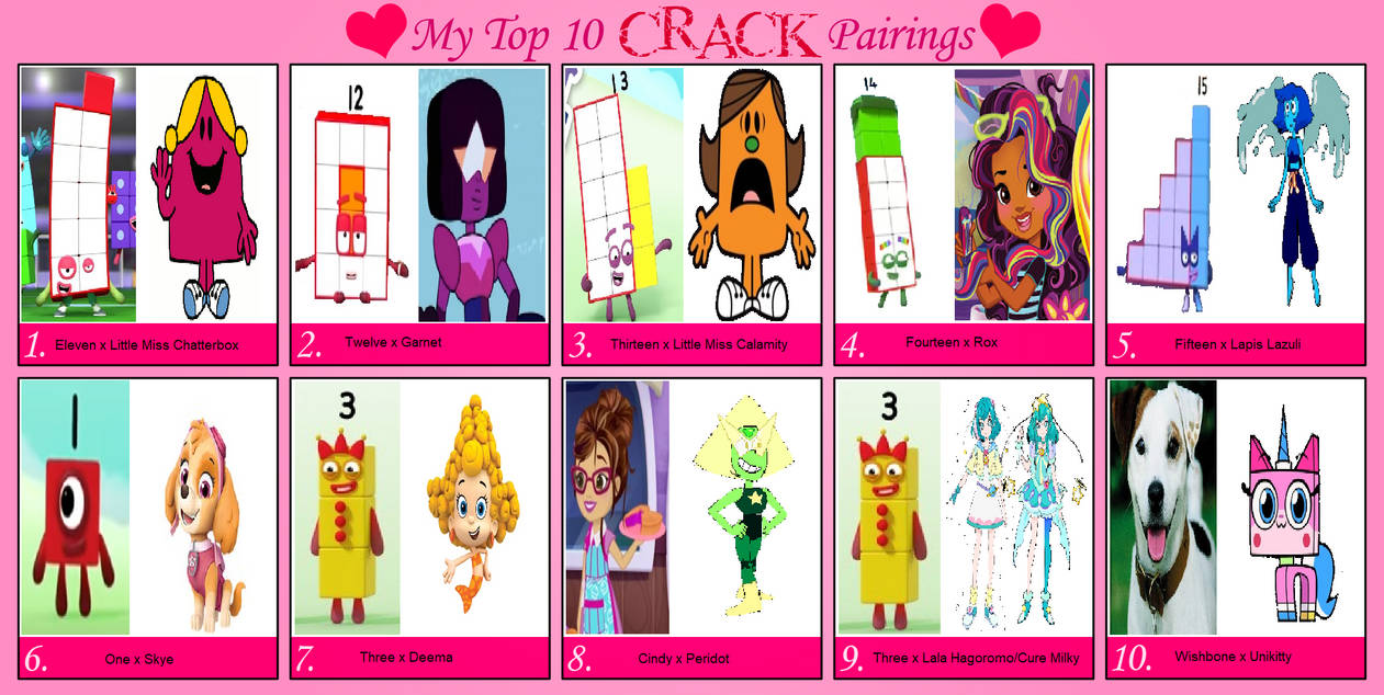 My Top 10 Crack Pairings (Part 10) By Teanster1 On DeviantArt