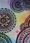 Watercolor zendoodle