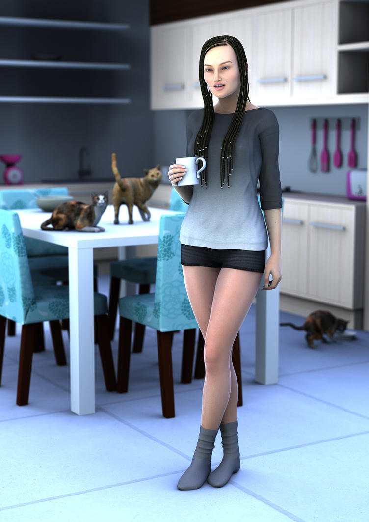 Morning mood by SimonJM