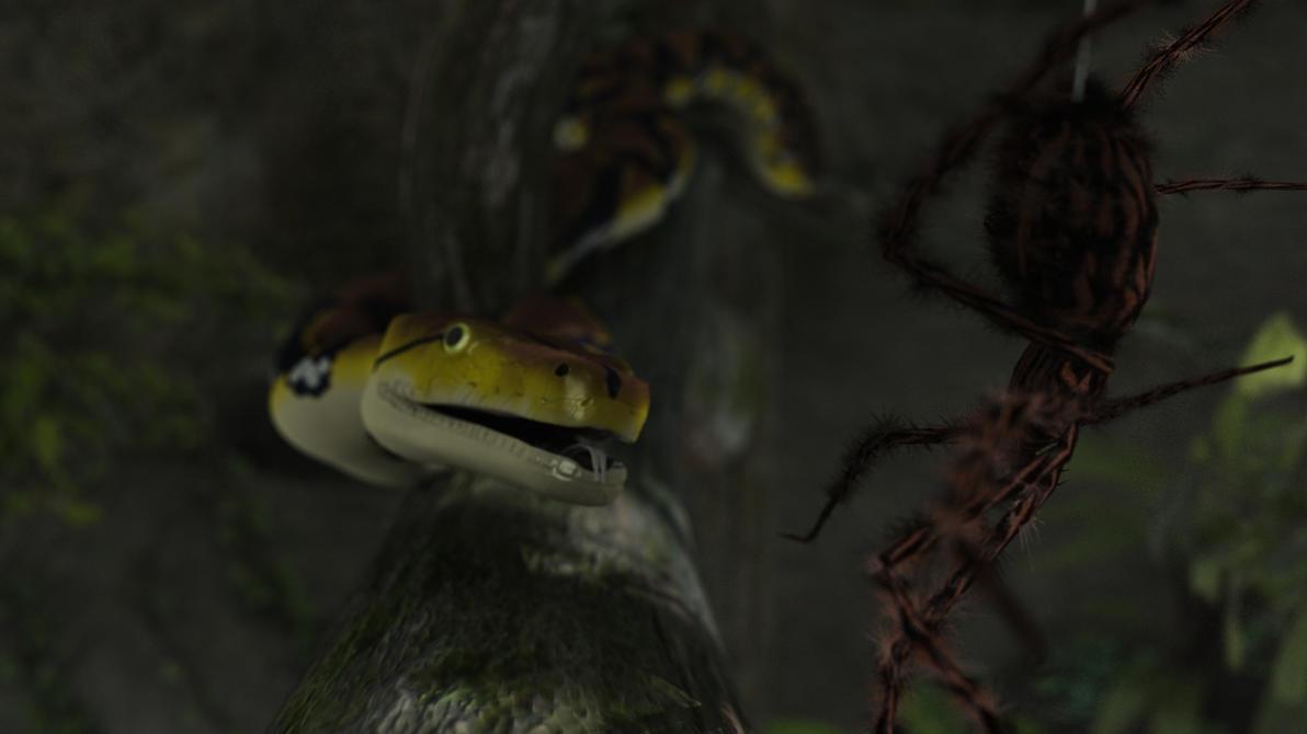 Snake by SimonJM