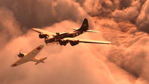 Lonely flight 2 by SimonJM
