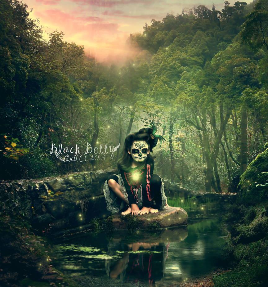 Swamp fae by blackbettyes