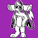Wait what happened to sans- oh god he's a furry
