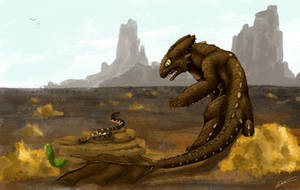Desert Fury - Commision by Dracarian