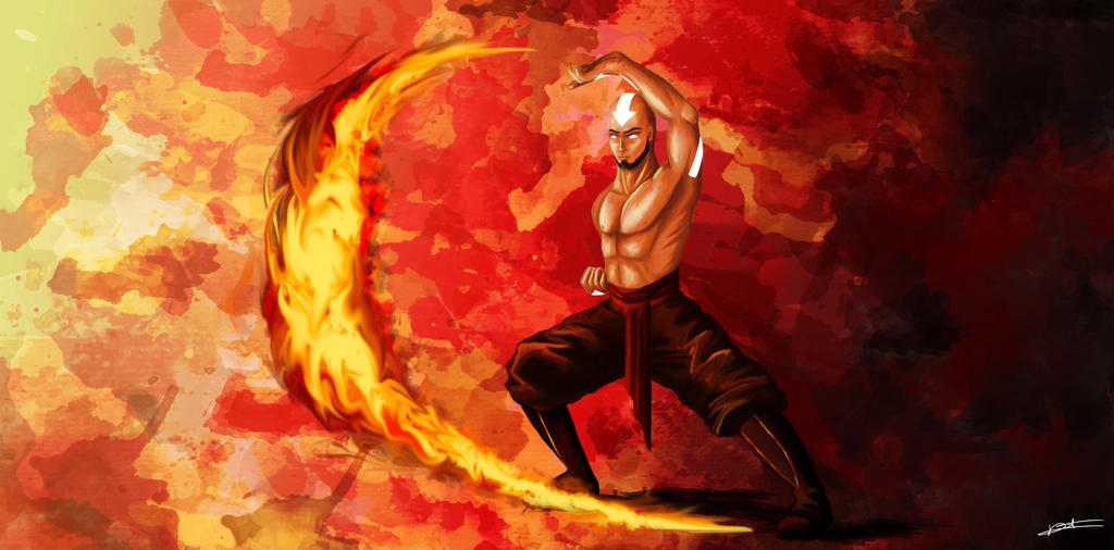 Zuko and Aang Dancing Dragon - YouTube