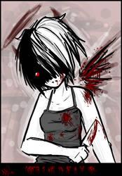 x Character in the Dark x by CrazyPurplePuppy