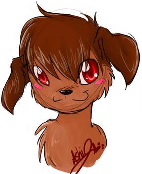 x Chocolate Puppy x