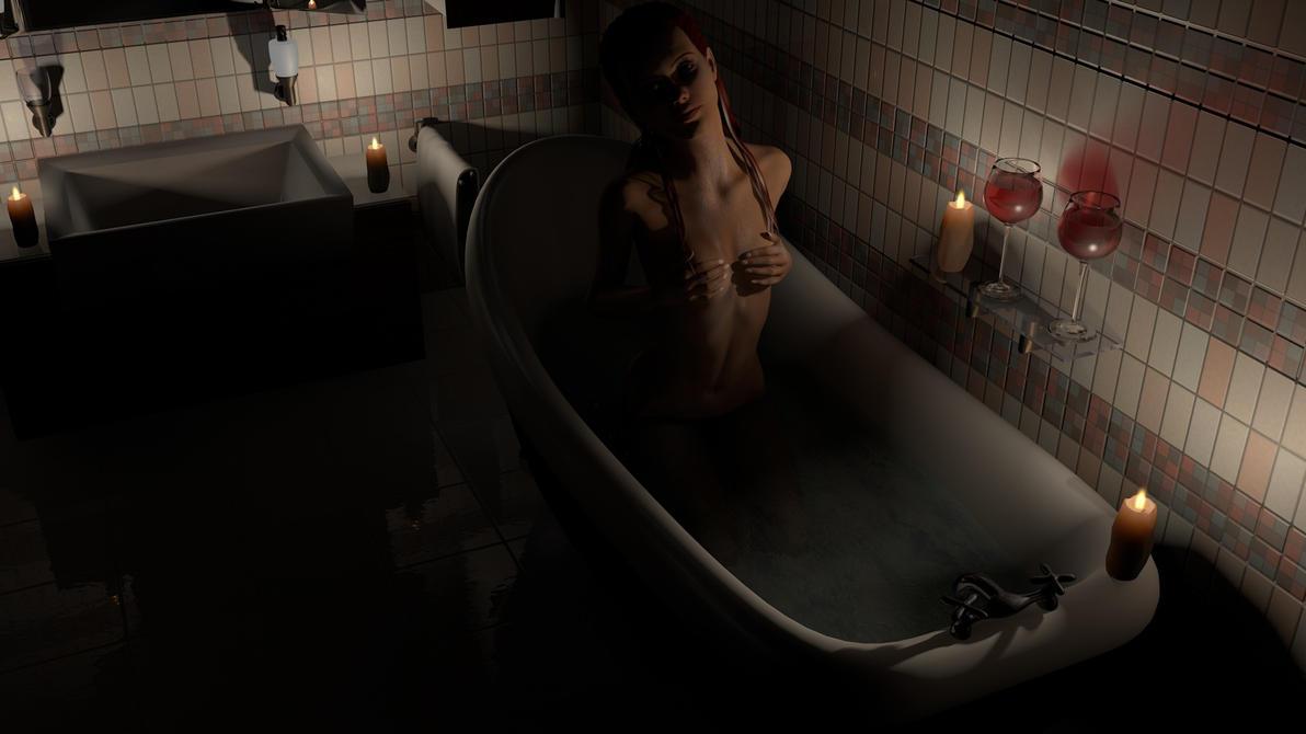 Bathtub by plasticx76