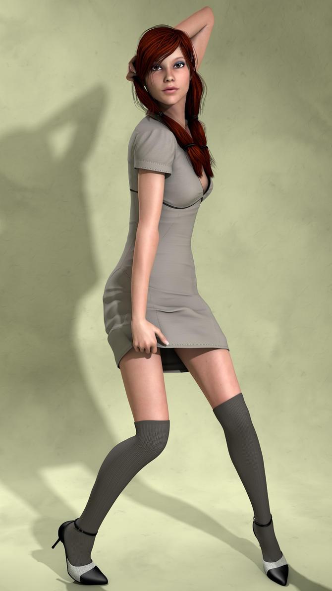 Parigine - Thigh High by plasticx76