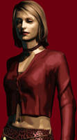 Silent hill Maria painting