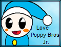 I Love Poppy Jr Stamp by JigglyPuffGirl