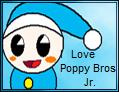 I Love Poppy Jr Stamp by JigglyPuffGirl