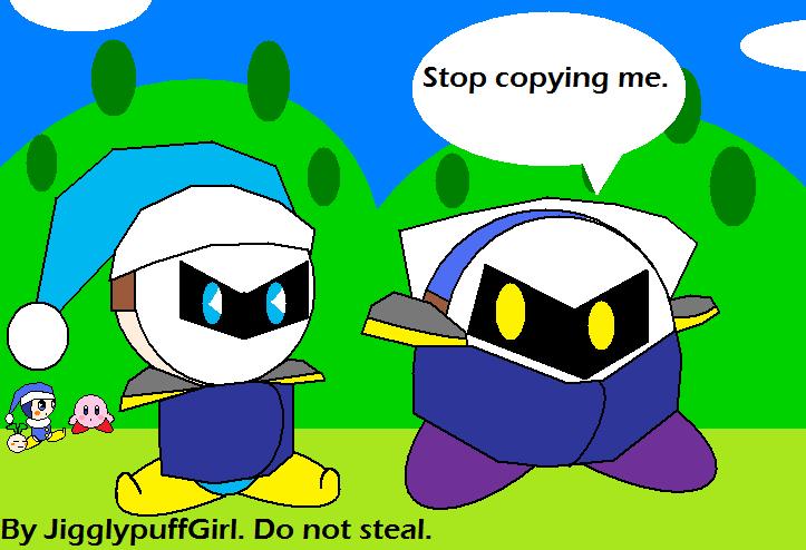 Meta Knight And Tiff   Meta Knight And Fumu   Kirby And JigglypuffJigglypuff And Meta Knight