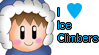 I love Ice Climbers Stamp by JigglyPuffGirl