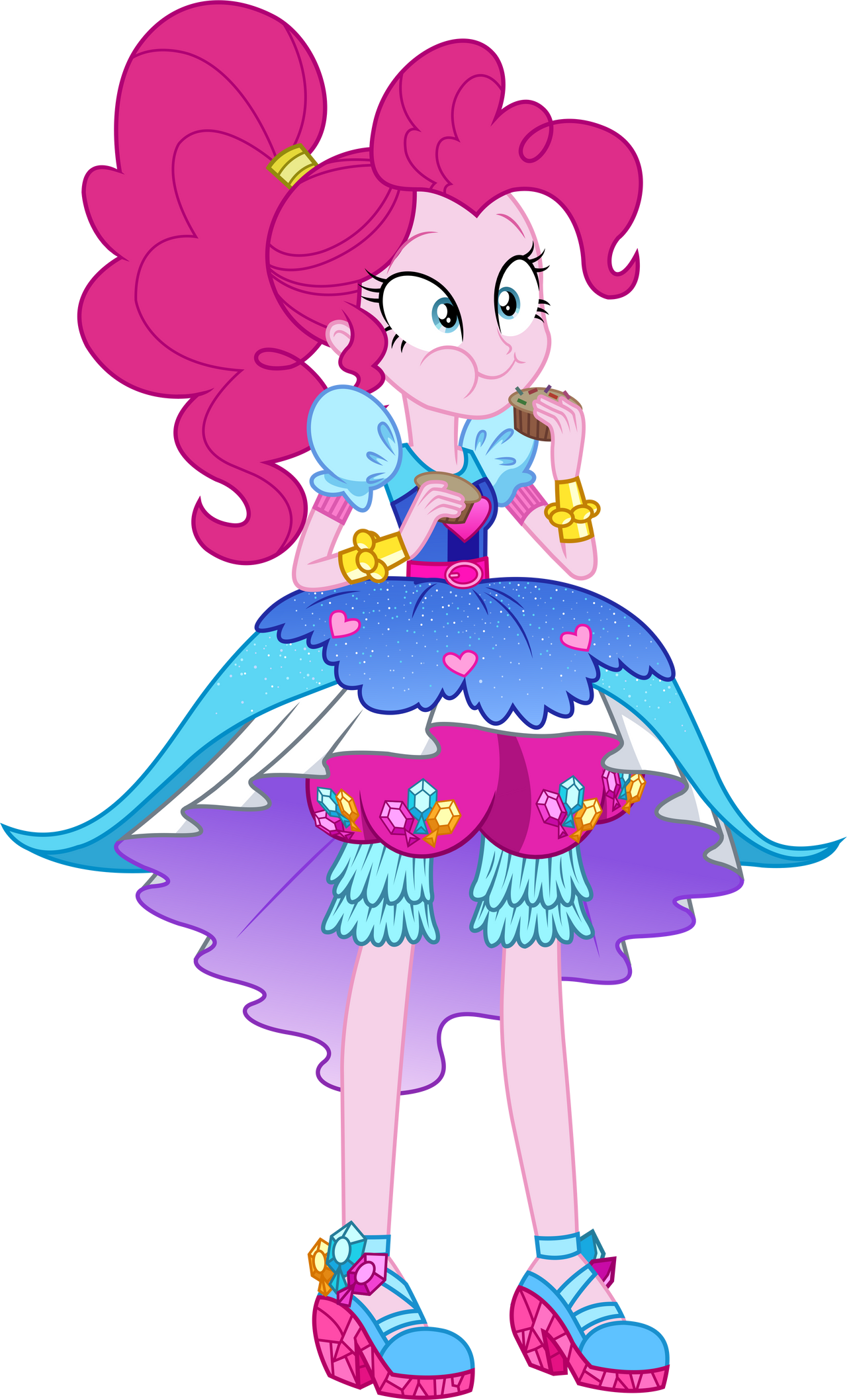Artist Ponyhd Boots Cowboy Cowgirl Outfit - Mlp Eg Pinkie