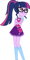 Point Commission: Casual Dress Twilight Sparkle by ImperfectXIII