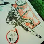 Deadpool: I'm in a Sketchbook! by xXDrawingAddictXx