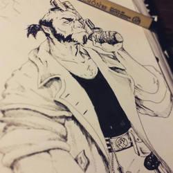HellBoy by xXDrawingAddictXx