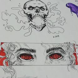 Hypnotic Eyes by xXDrawingAddictXx