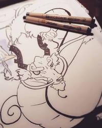 Brush pen practice  by xXDrawingAddictXx