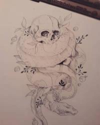 Death by Snake by xXDrawingAddictXx