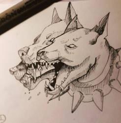Cerberus  by xXDrawingAddictXx