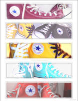 Chuck Taylors the best by JeeTee87