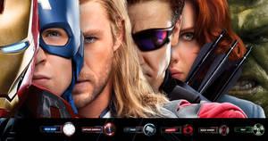 The Avengers Wallpaper by satorikun