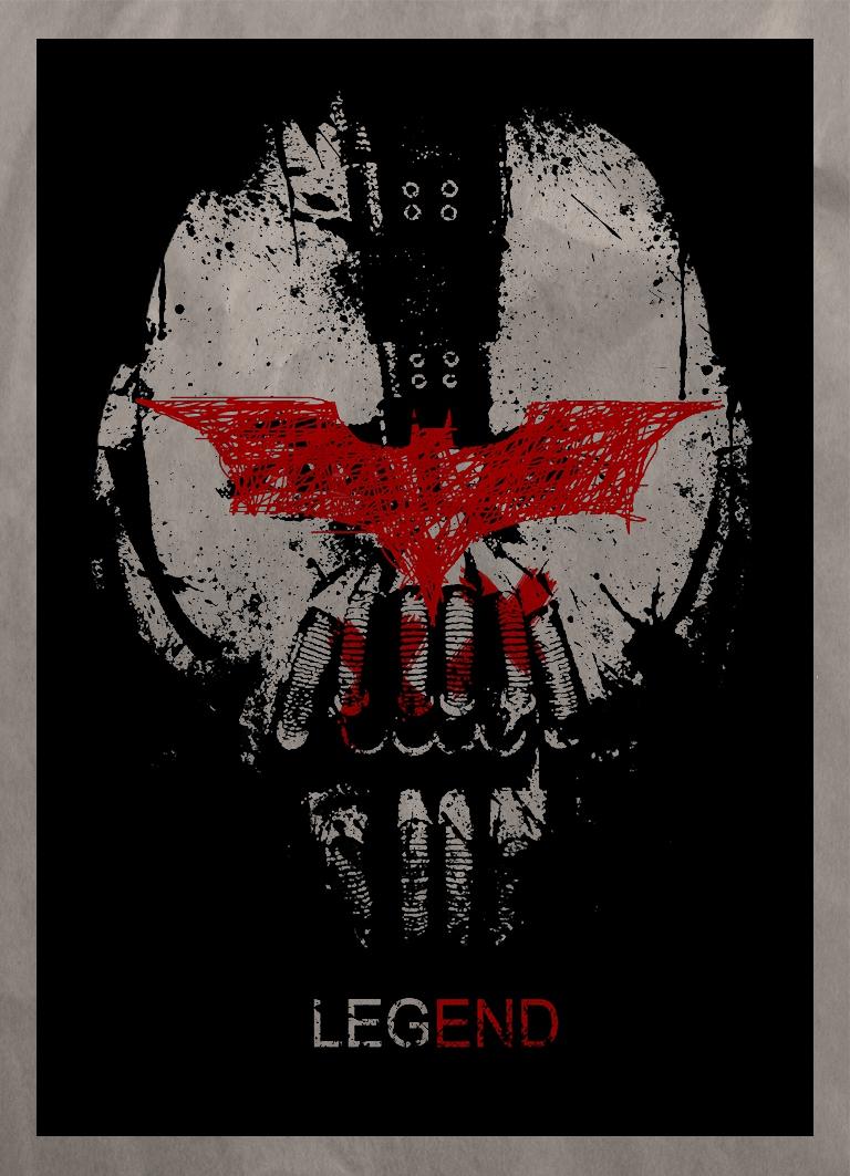 Minimalistic TDKR poster by satorifrenzy