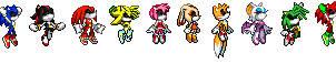 Sonic Power Rangers by Sonicman98