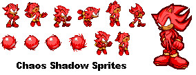 Chaos or Hell Shadow Sprites by Sonicman98