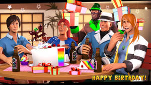 {SFM} Birthday Surprise by GreenStorm64
