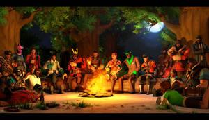 {SFM} Camping Buddies