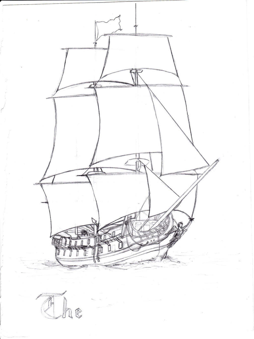 sketch of the black pearl pirate ship coloring pages Pirates of the Caribbean Coloring  Black Pearl Coloring Pages