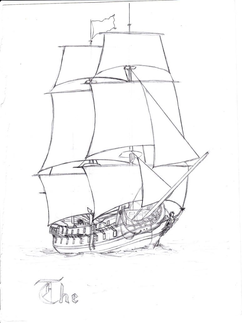 The Silent Mary furthermore DBz21 in addition Wip Embroidery Redesign The Black Pearl 447253271 further Sail Ship Black Pearl further File CotBPShipsArt. on potc the black pearl ship