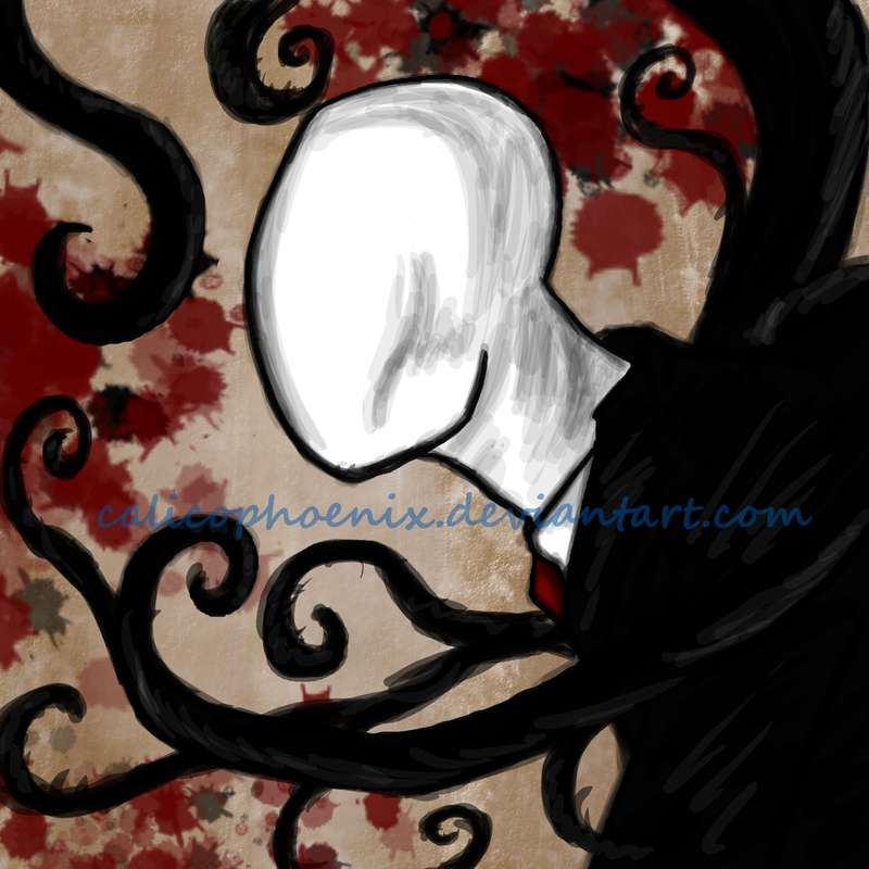 Slenderman by calicophoenix