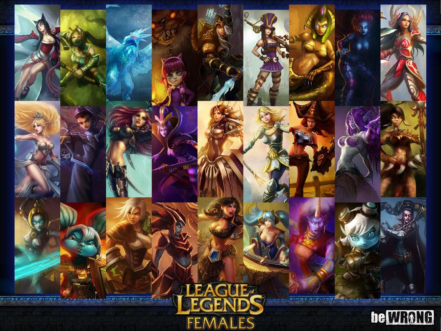 League Of Legends Female Champions