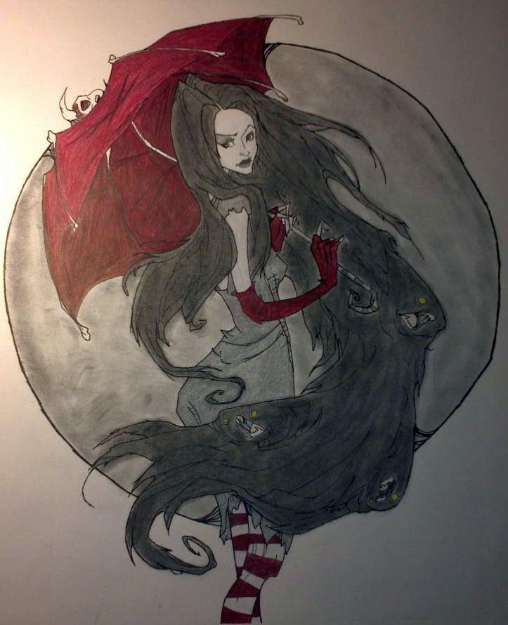 marceline the vampire queen 2 by die666direngrey0
