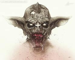 Fleshfeeder - Big Bad City - Christopher Lovell by Lovell-Art