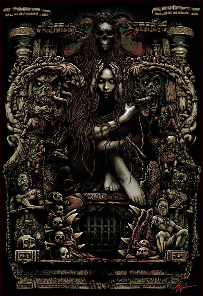 Temple - Iron Fist - Christopher Lovell Art by Lovell-Art