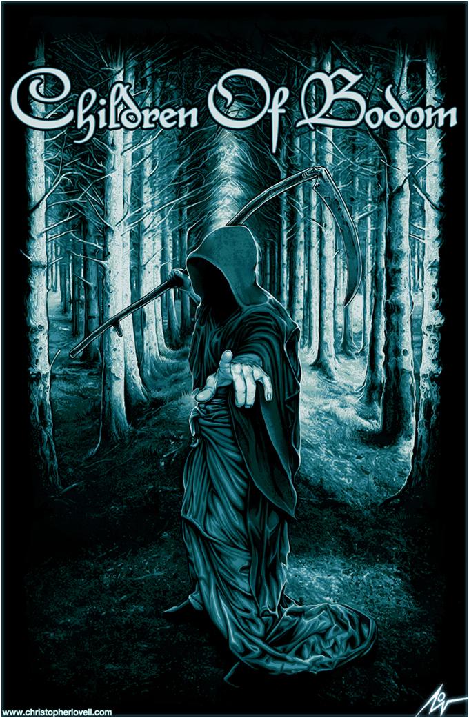 Children of Bodom - Christopher lovell Art by Lovell-Art ...