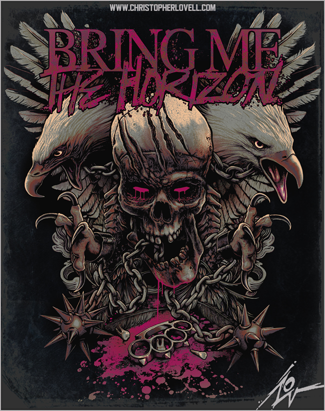 bring me the horizon   chained wings by lovell art-d4nj26r jpgBring Me The Horizon Artwork